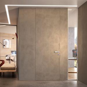 porta da interno / battente / in quercia / per edifici pubblici