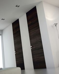 porta da interno / battente / in legno / a tutta altezza
