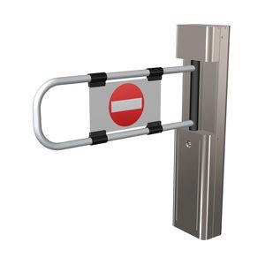 barriera di controllo accessi / a bilico / in acciaio / per edifici pubblici