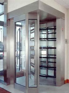 tornello di sicurezza / in metallo / per edifici pubblici