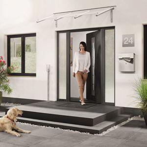 porta d'ingresso / battente / in acciaio / di sicurezza