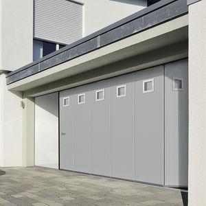 porte sezionali laterali per garage / in acciaio galvanizzato / automatiche / isolanti