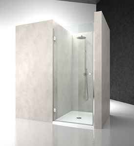 parete doccia pivotante