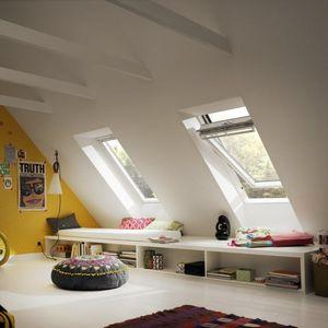 finestra da tetto a bilico con asse centrale