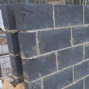 blocco di calcestruzzo di granulare leggero / pieno / per muro portante / per fondazione