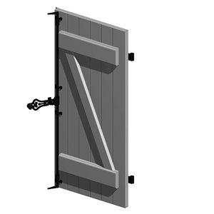 persiane battenti / in alluminio / per finestre / per porte
