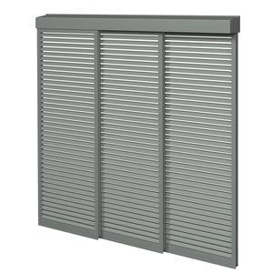 frangisole in alluminio / per facciata / scorrevole