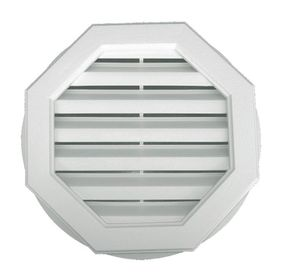 griglia di ventilazione in plastica / ottagonale / per facciate