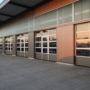porte industriali sezionali