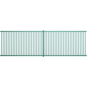 recinzione per parco giochi / a sbarre / in acciaio galvanizzato / liscia