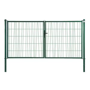 cancelli battenti / in acciaio galvanizzato / in rete metallica / per uso residenziale