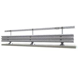 guard-rail in acciaio galvanizzato / per costruzione di ponti