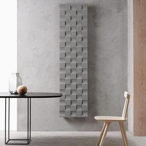 radiatore elettrico / in lamiera / design originale / da parete