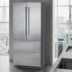 frigorifero per uso residenziale / ad armadio / a cassetti / grigio