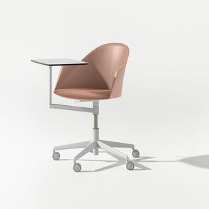 sedia moderna / con braccioli / con rotelle / con tavoletta
