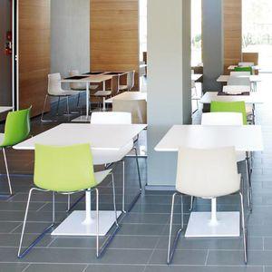 tavolo da bistrot moderno / in laminato / in MDF / in MDF laccato