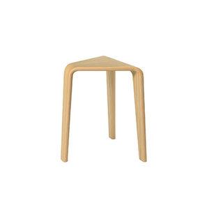 sgabello moderno / in quercia / in legno compensato / in legno curvato