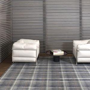 tappeto moderno / a righe / multicolore / in fibre sintetiche