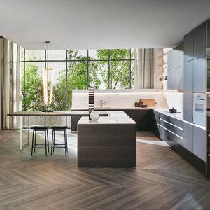 cucina moderna / in Fenix NTM / in Corian® / in acciaio inossidabile