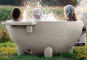 vasca per bagni caldi all'aperto per uso residenziale