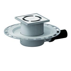 piletta in acciaio inox / in polipropilene / con griglia / quadrata