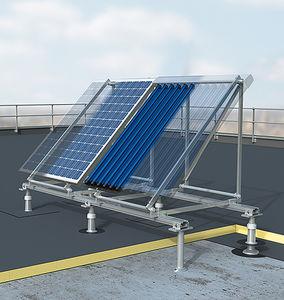 sistema di montaggio per tetti piani / su tetto / per modulo fotovoltaico / per collettore solare