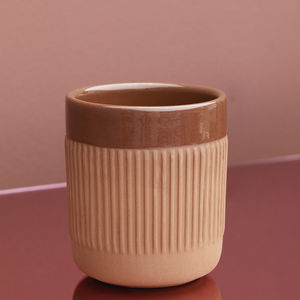 tazza in terracotta / contract
