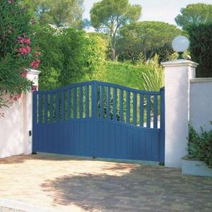 cancelli battenti / in alluminio / a sbarre / per uso residenziale