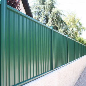 recinzione da giardino / a sbarre / in alluminio / tinta