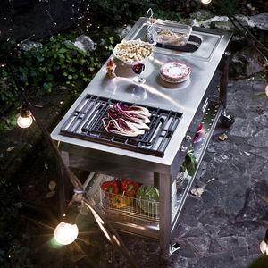 grill elettrico / da incasso / professionale / in acciaio inox