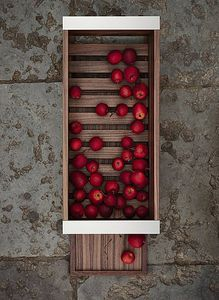 contenitori portaoggetti in legno