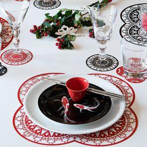 piatto piatto / di servizio / da cena / fondo