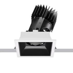 faretto da incasso a soffitto / da interno / LED / retrattile