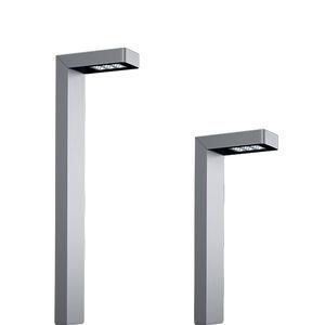 lampioncino per spazio pubblico / moderno / in ghisa di alluminio / in acciaio inossidabile