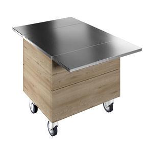 tavolo di preparazione in laminato