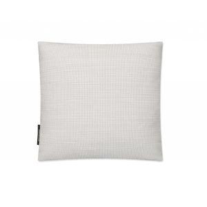 cuscino quadrato / a righe / in cotone / in lana
