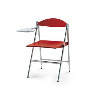 sedia moderna / imbottita / con braccioli / pieghevole