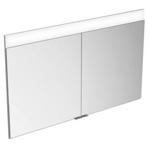mobile da bagno per uso residenziale / moderno / in metallo / da parete