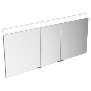 mobile da bagno moderno / in metallo / da parete / con specchio