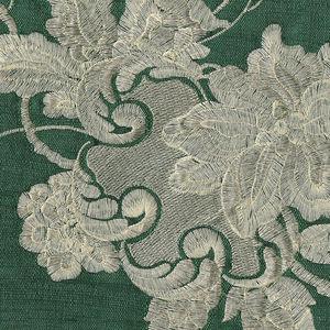 tessuto per tende / a fiori / in viscosa / in seta