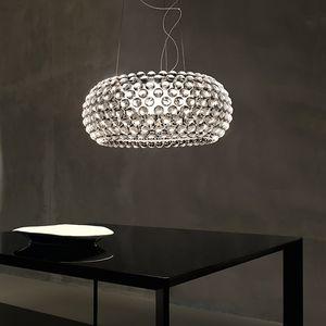 lampada a sospensione / moderna / in alluminio / in metallo cromato