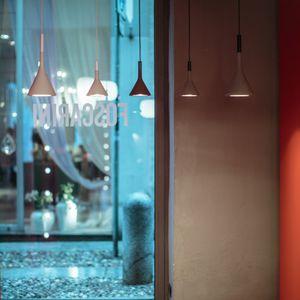 lampada a sospensione / moderna / in calcestruzzo / LED