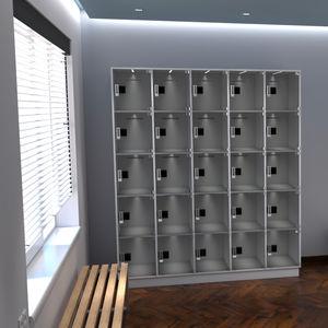 armadietto di deposito in policarbonato