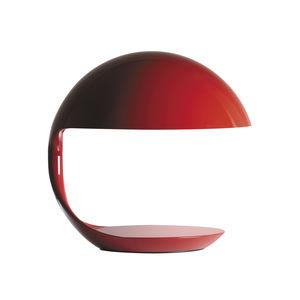 lampada da tavolo / design originale / in alluminio verniciato / in resina