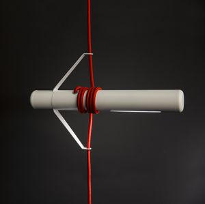lampada a sospensione / moderna / in alluminio / in metacrilato