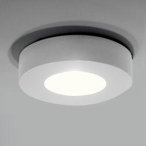 plafoniera design originale / tonda / in alluminio / LED
