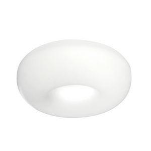 plafoniera moderna / tonda / in alluminio / a lampada fluorescente