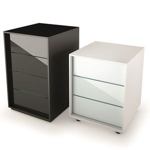 cassettiera per ufficio in legno