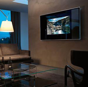 TV a specchio a muro / moderno / rettangolare / in alluminio