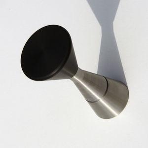 appendiabiti da parete design minimalista / in acciaio / professionale